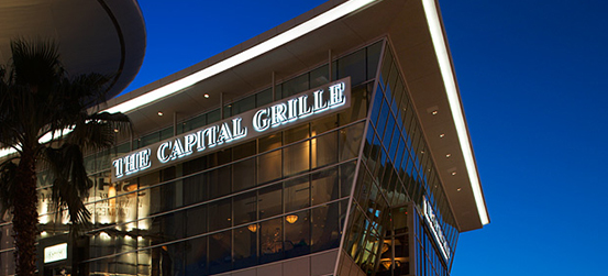 Exterior view of The Capital Grille at Fashion Show